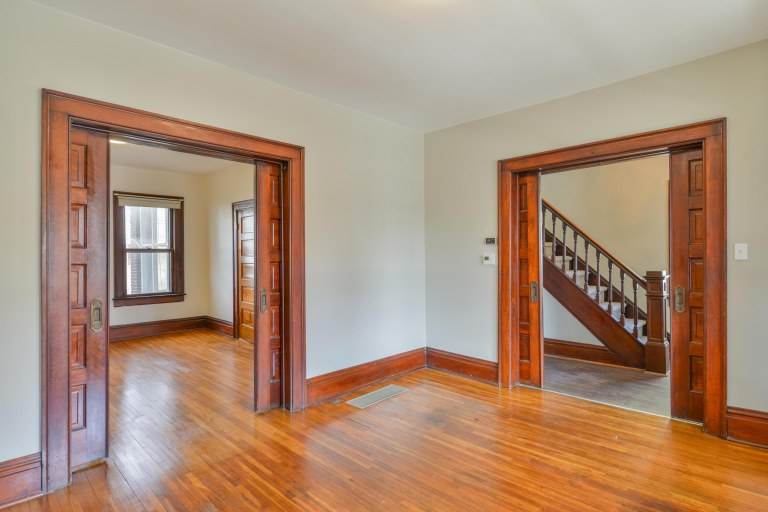 286 E Woodrow Avenue - Restored hardwood floors