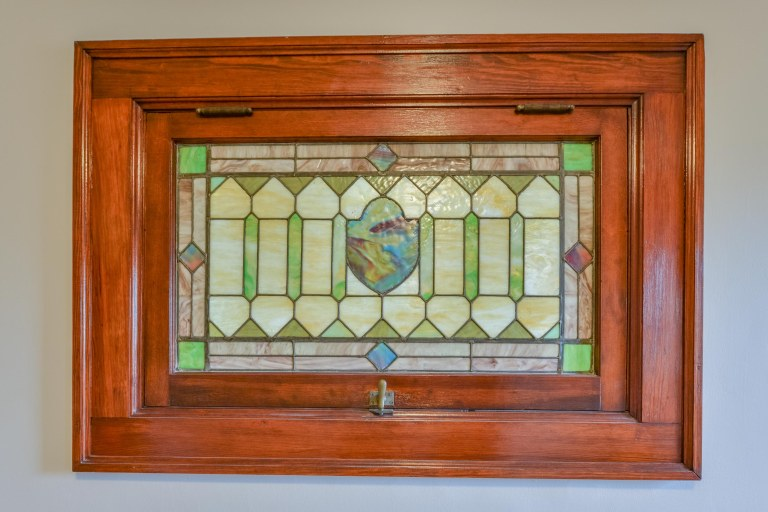 286 E Woodrow Avenue - Stained Glass Window